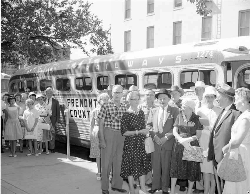 Demo to Pueblo from Fremont Co., 8-17-1962