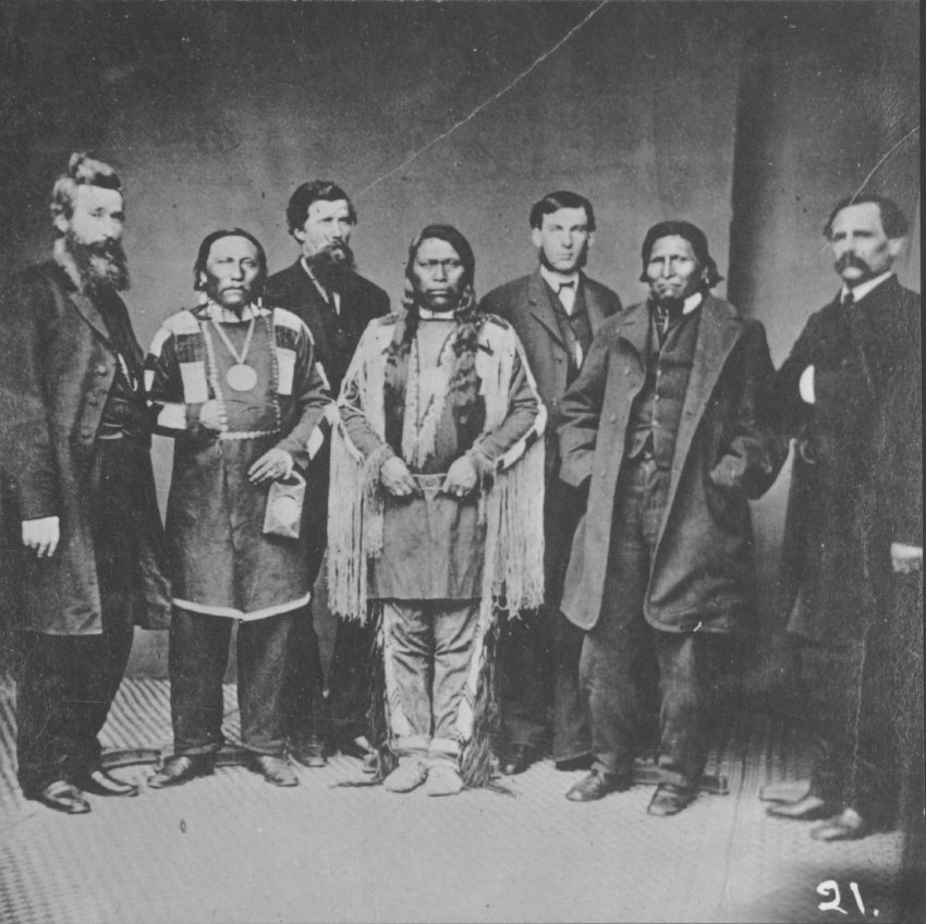 Delegates to Washington, 1868