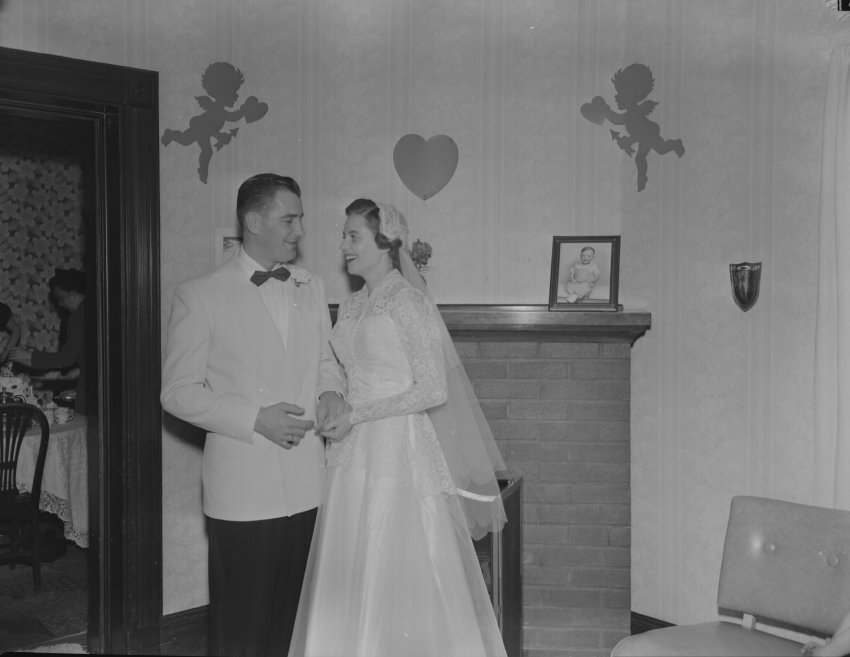 Jeanne and Rick Culpin, married 1952; Copyright Royal Gorge Regional Museum & History Center