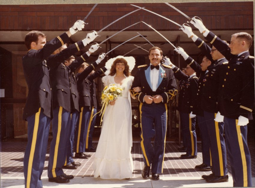 Ivan and Lois Middlemiss, married May 10, 1980 in Tacoma, Washington; Copyright Royal Gorge Regional Museum & History Center