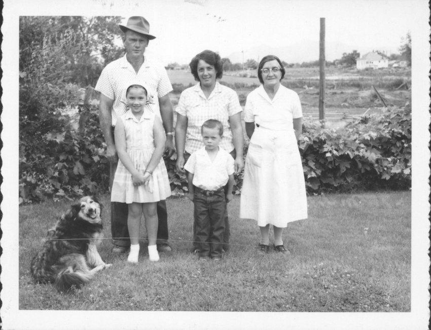 Olen Nichols family, March 25, 1965; Copyright Royal Gorge Regional Museum & History Center